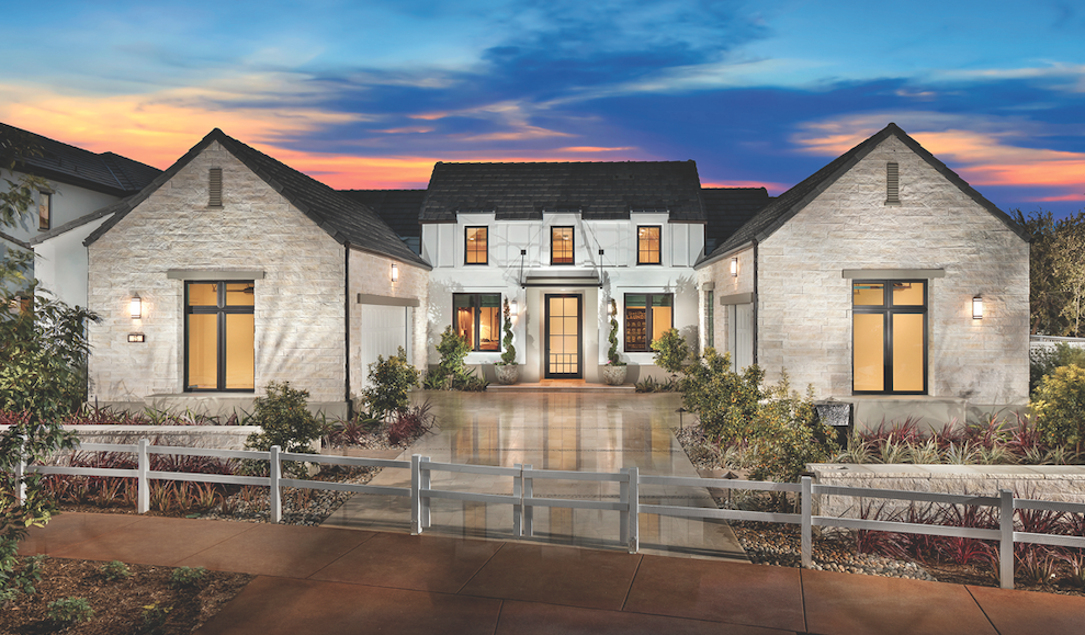 2019 Professional Builder Design Awards Gold Single-Family Production home exterior