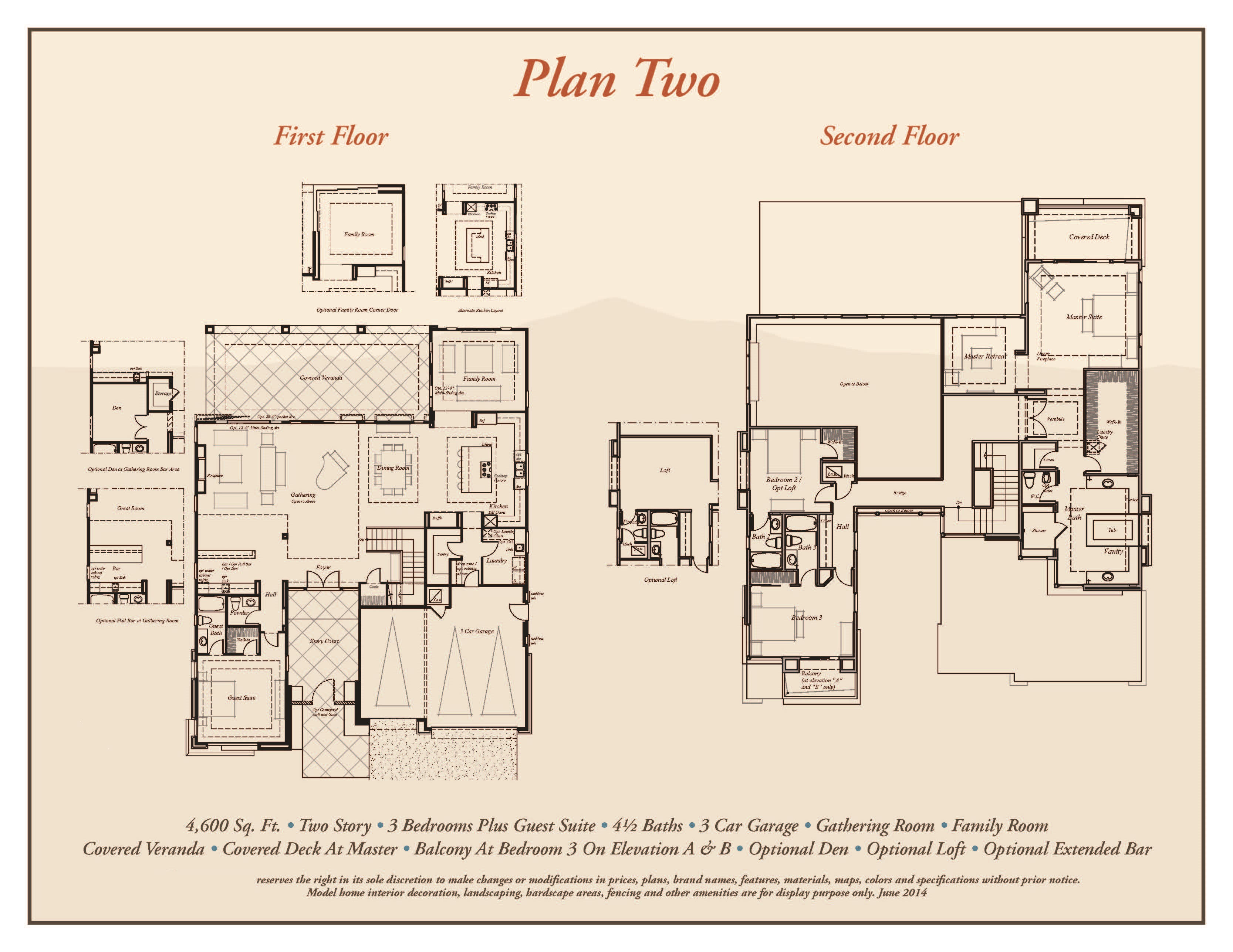 Sterling ridge premier collection plan 2 professional for Sterling plan