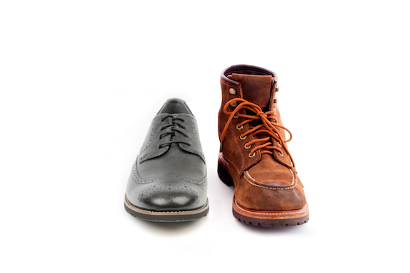 dress shoe for office and work boot for the jobsite