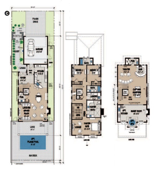 6 novel infill housing schemes pro builder for Infill home plans