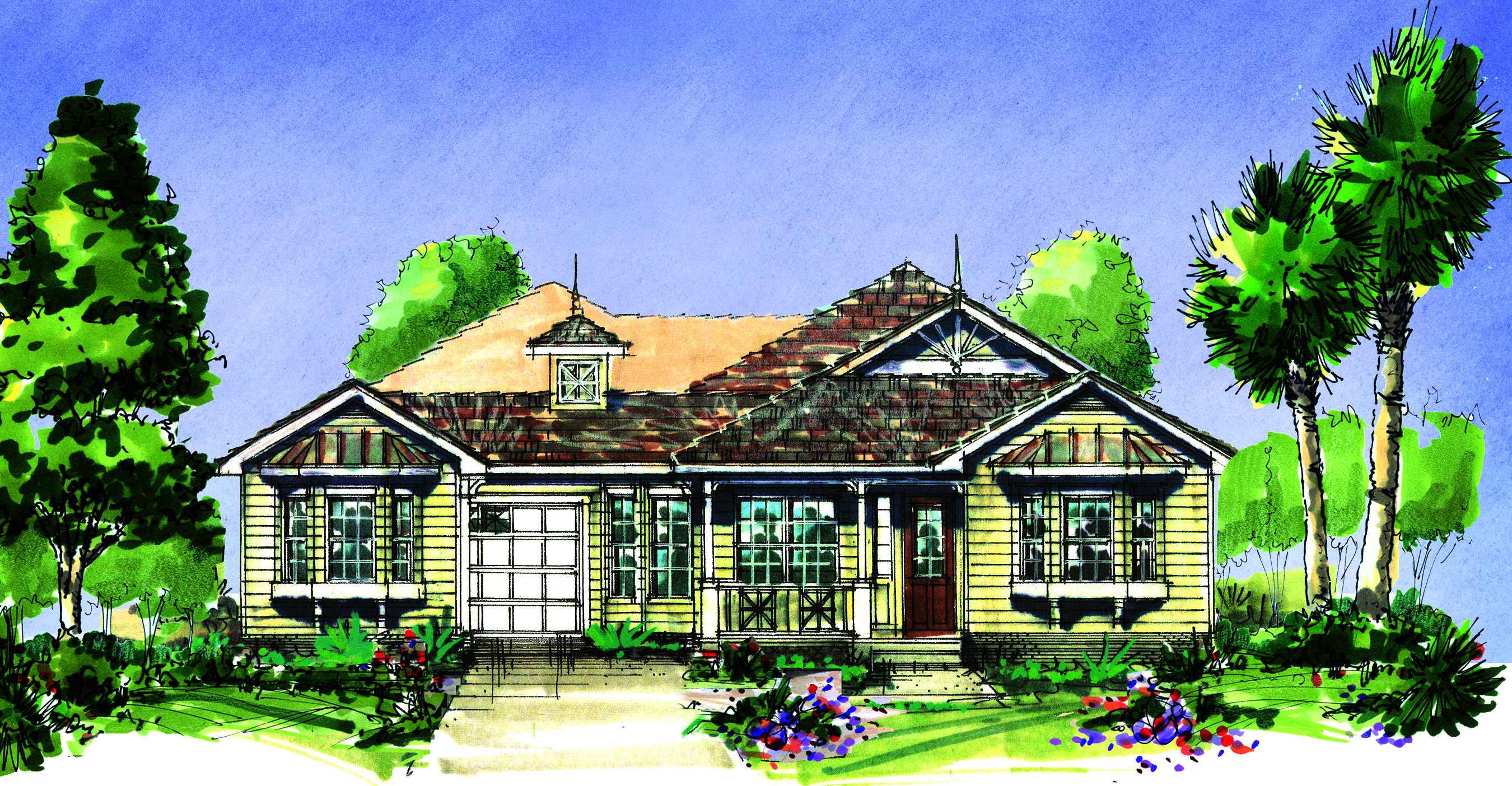 House plans with attached casitas for Casita house plans