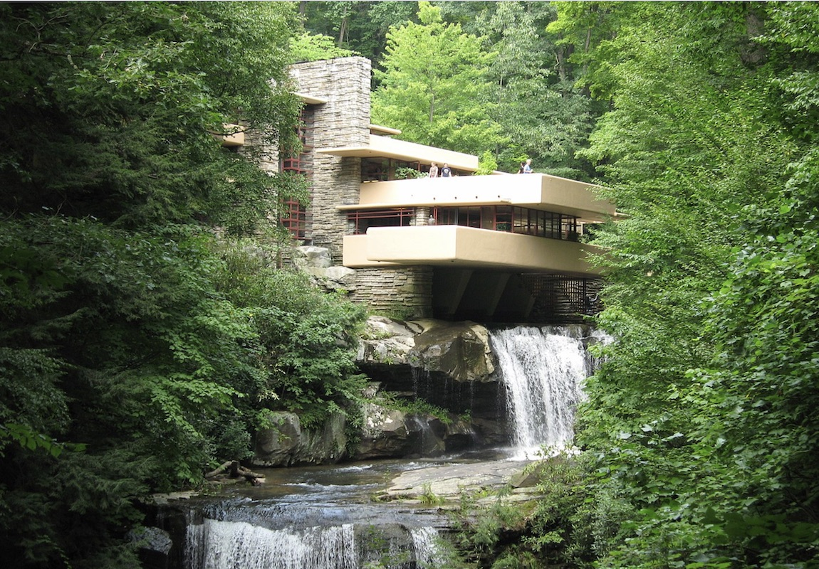 Frank Lloyd Wright's Fallingwater in Mill Run, Pa., has been plagued by structural issues and water leaks