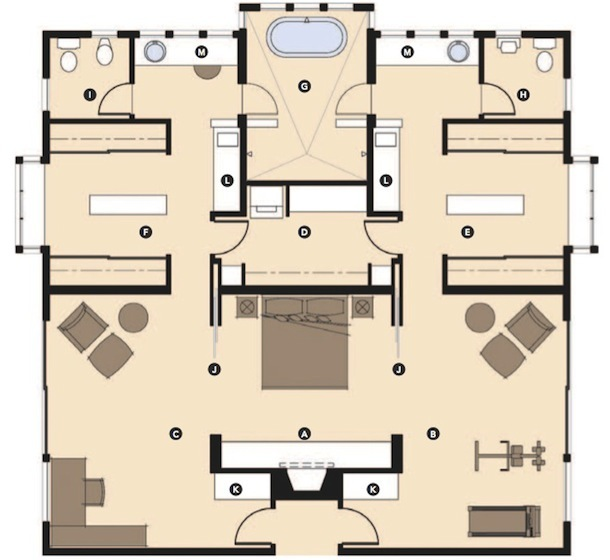 Luxury Master Bedroom Suite Floor Plans 5 master suite design concepts | pro builder