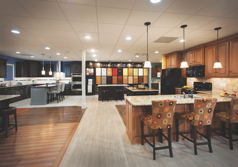 Bay To Beach Builders Makes Sure That Customers Take A Tour Of The Design  Studio In The Basement Of Its Model Home. U201cOnce People Tour The Model And  We Take ...