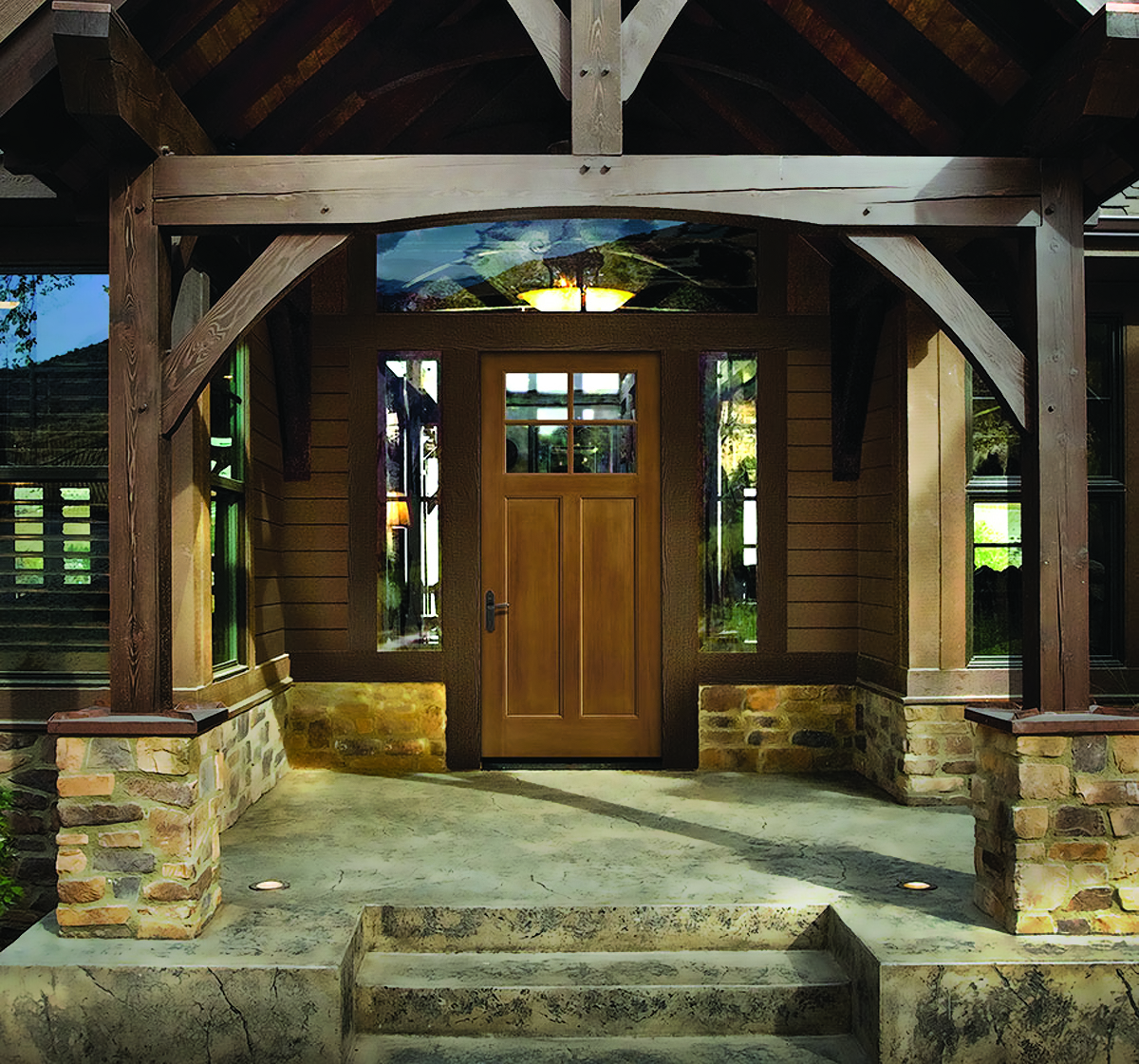 Points of entry door trends pro builder for Therma tru classic craft