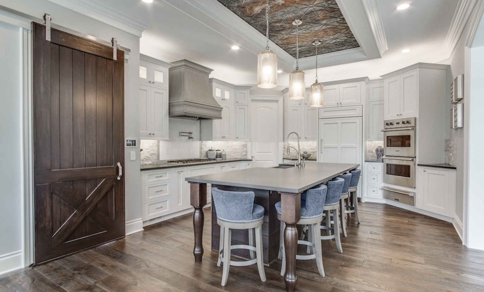 The kitchen in Jaime, designed by TK Design & Associates