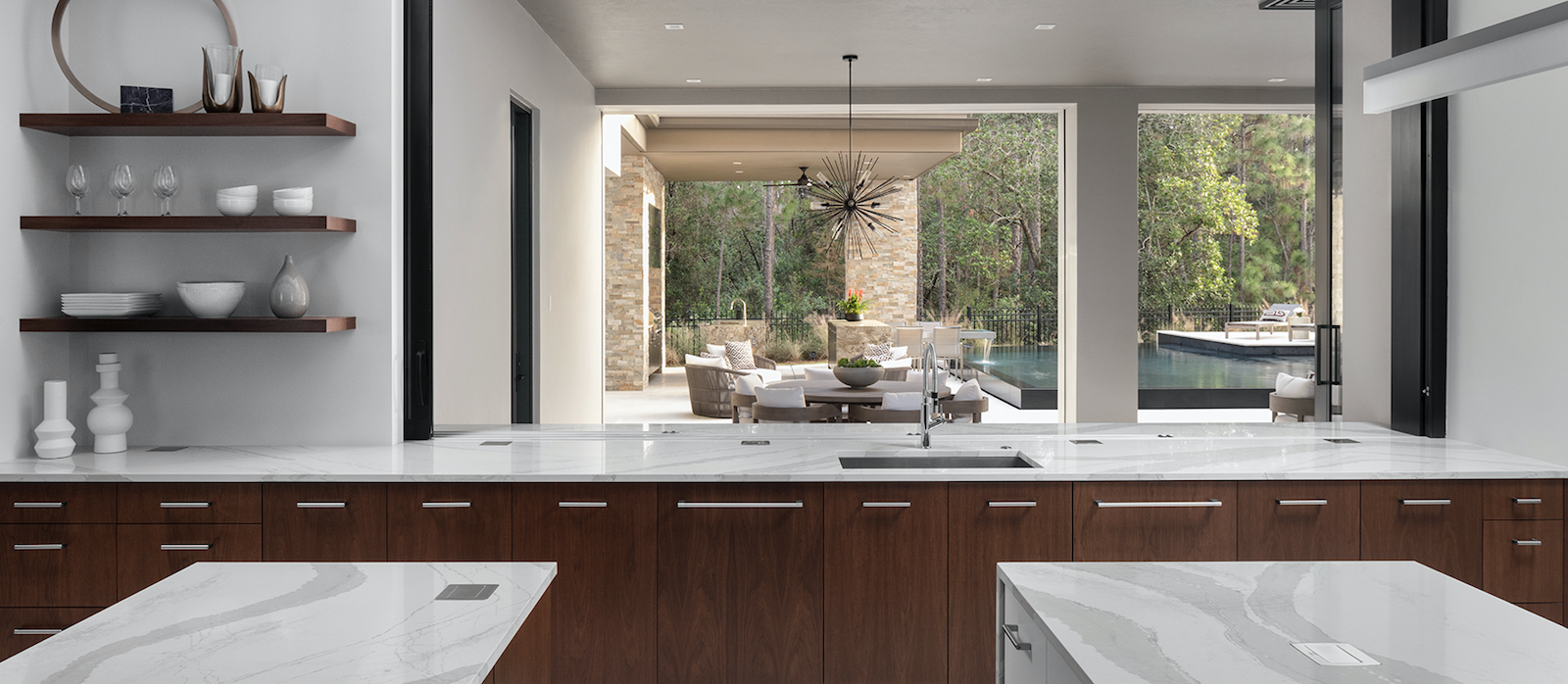 Nyumbani, in Orlando, Florida, wins Kitchen/Custom Spec Home Aurora Award