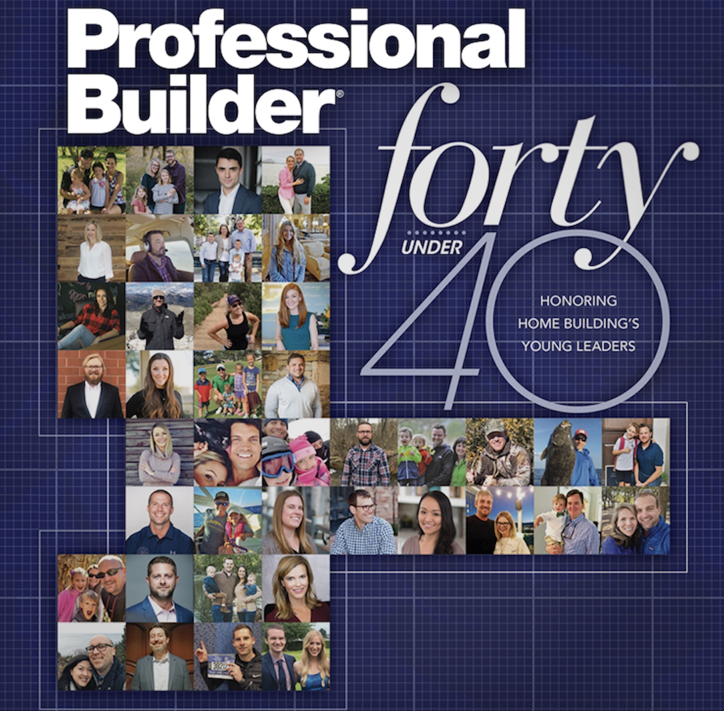 Professional Builder Forty Under 40 award
