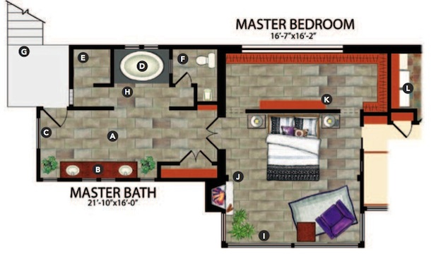 48 Master Suite Design Concepts Professional Builder Interesting First Floor Master Bedroom Floor Plans Concept Design