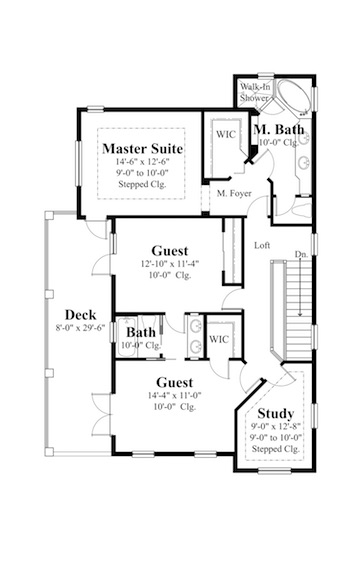 House plans for narrow lots on