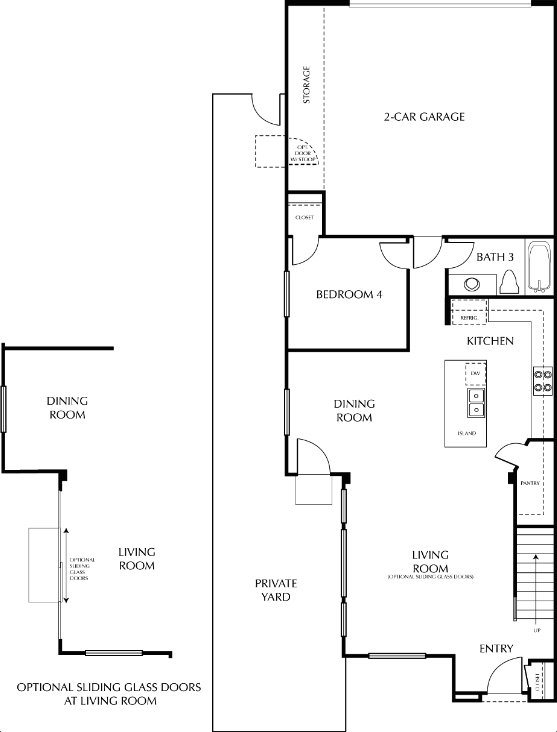 the haven floor plan by brookfield homes at windingwalk in chula vista calif features a great room on the first floor and a supersized family loft on the - Brookfield Homes Floor Plans