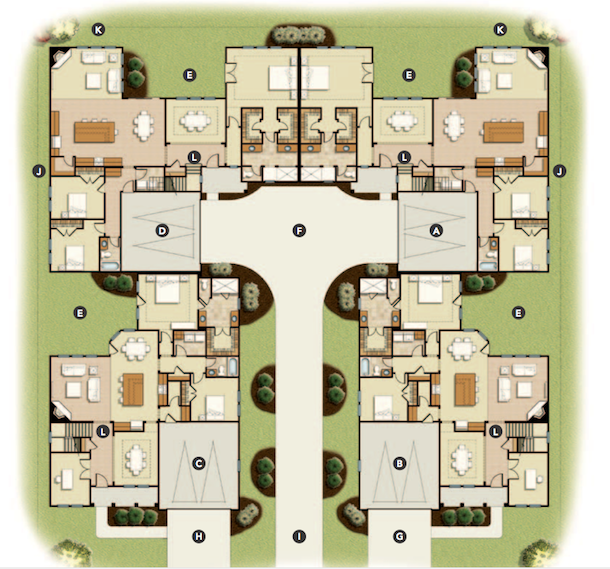 House Review: Multifamily Designs | Professional Builder on floor plans with doors, floor plans with walls, floor plans with stairs, floor plans with conservatories, floor plans with laundry rooms, floor plans with windows, floor plans with elevators, floor plans with stables, floor plans with hallways, floor plans with atriums, floor plans with columns, floor plans with basements, floor plans with patios, floor plans with landscaping, floor plans with gardens, floor plans with foyers, floor plans with staircases, floor plans with verandas, floor plans with breezeways, floor plans with halls,