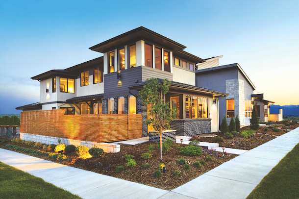 The Fresh, Zesty Character Called For In The Midtown Design Guidelines Is  Embodied In Two Elevation Choices For Residence Two: Modern/Prairie Style  (shown ...