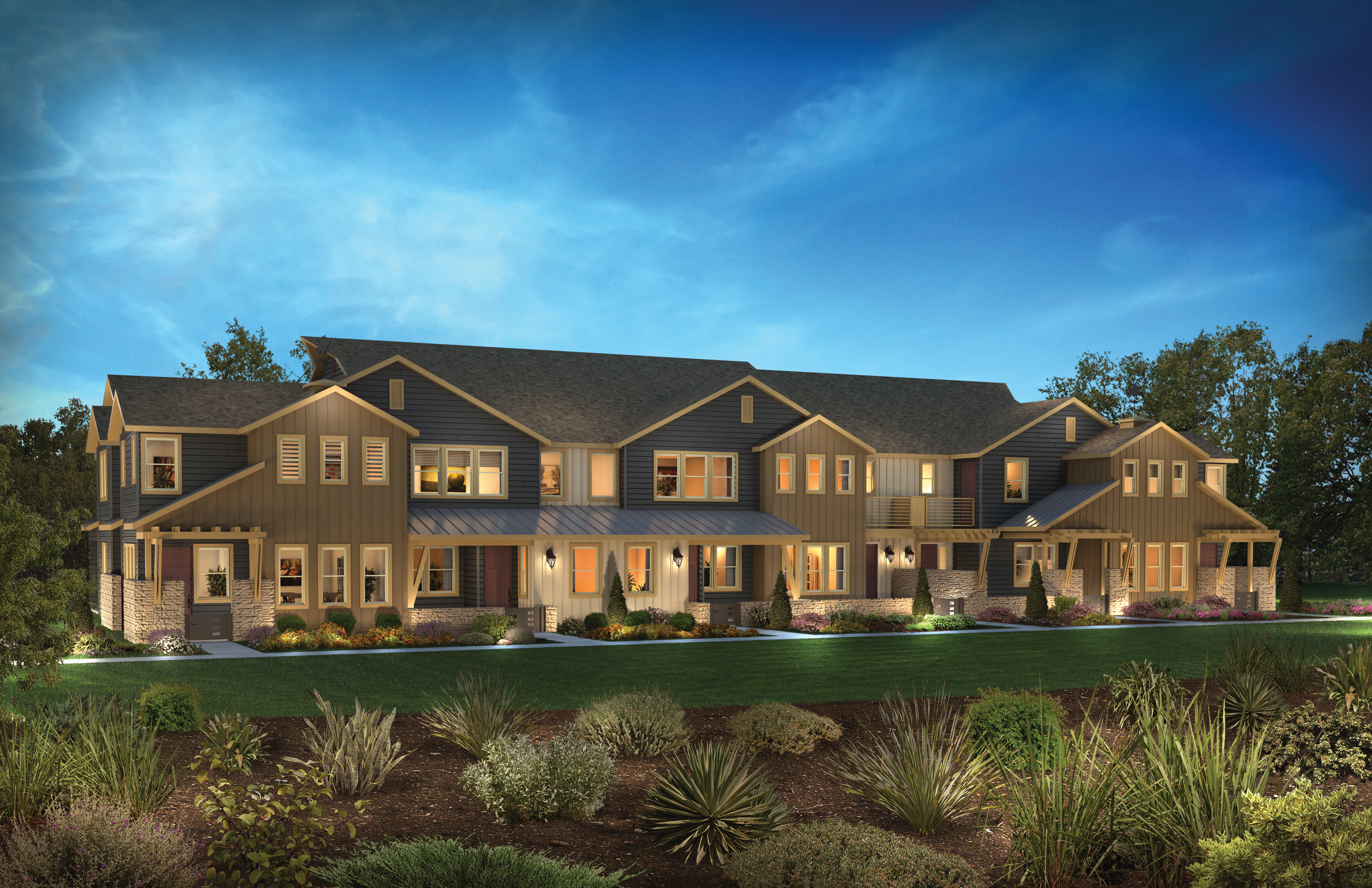 Shea Home Tranquility townhomes at Sage