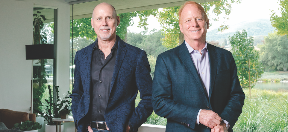 Trumark Companies' co-founders Gregg Nelson (left) and Mike Maples