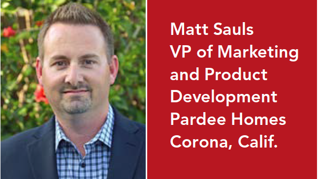 Matt Sauls on Pardee Homes' First 55+ Product and Why Local Flavor