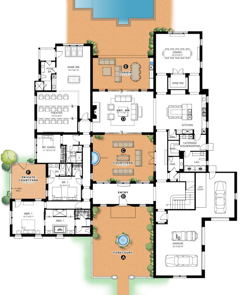 KL Crook Architecture Wine Country Estates floor plan