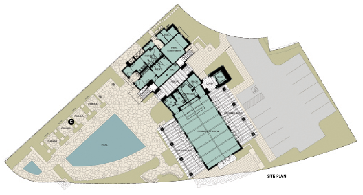 Robert hidey Architects The Summit CLub site plan