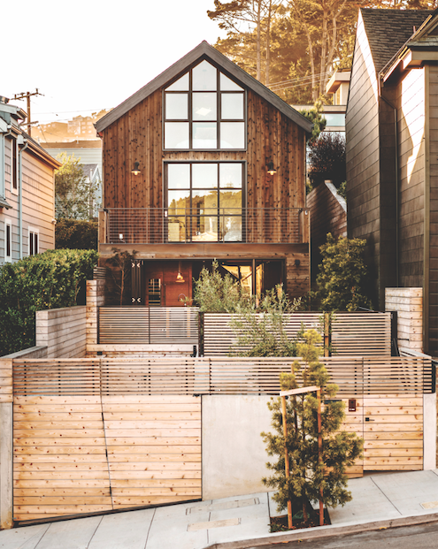 2019 Professional Design Awards Gold Infill house facade and outdoor spaces