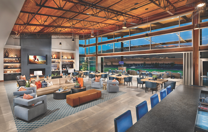 2019 Professional Builder Design Awards Gold New Community amenities