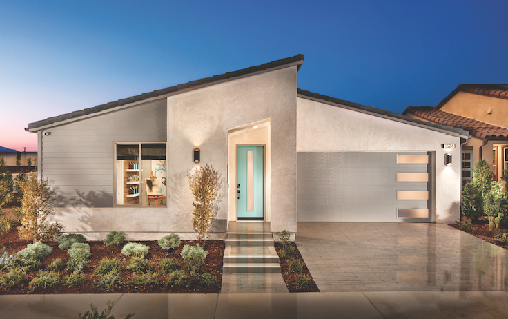 2019 Professional Builder Design Awards Gold New Community home exterior