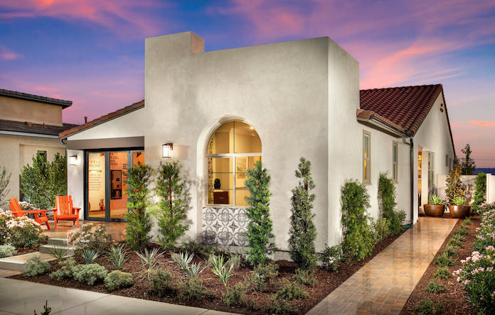 2019 Professional Builder Design Awards Gold New Community home exterior 2