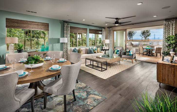 2019 Professional Builder Design Awards Gold New Community interior living spaces
