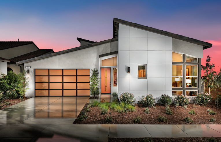 2019 Professional Builder Design Awards Gold New Community home exterior 3