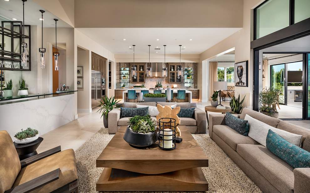 2019 Professional Builder Design Awards Gold Single-Family Production living area