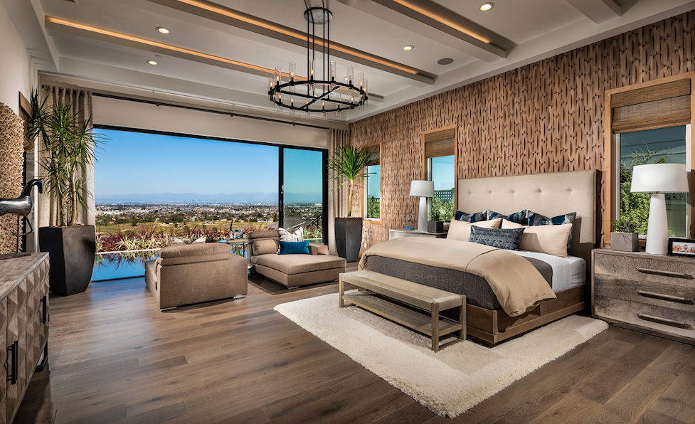 2019 Professional Builder Design Awards Gold Single-Family Production bedroom
