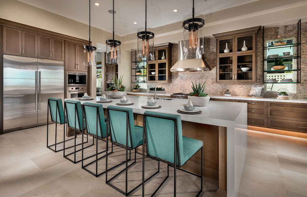 2019 Professional Builder Design Awards Gold Single-Family Production kitchen
