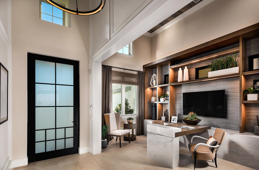 2019 Professional Builder Design Awards Gold Single-Family Production interior