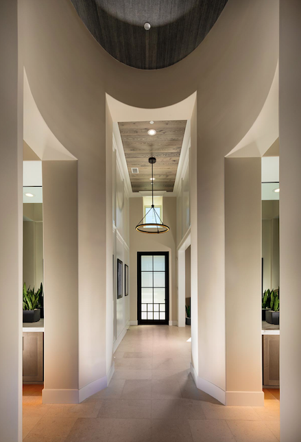 2019 Professional Builder Design Awards Gold Single-Family Production hallway