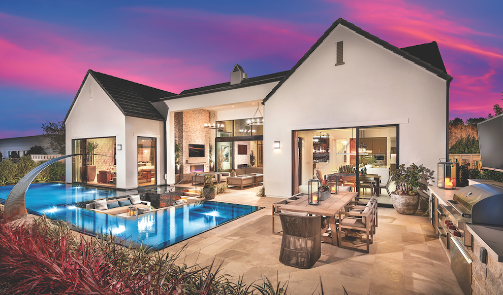 2019 Professional Builder Design Awards Gold SIngle-Family Production exterior