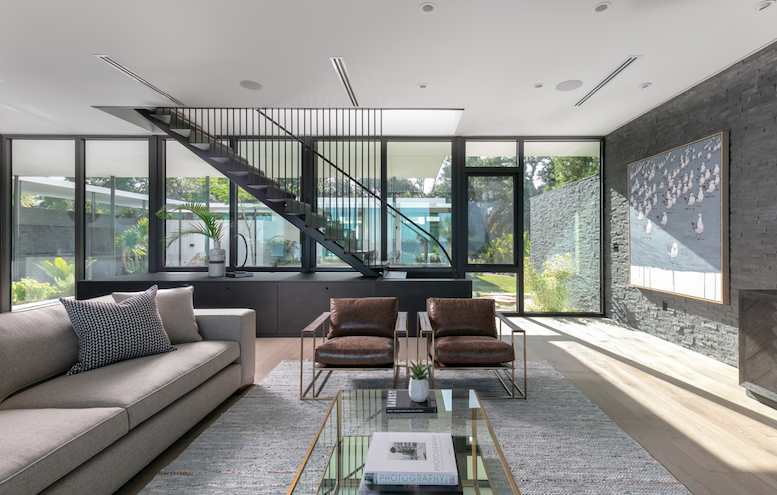 2019 Professional Builder Design Awards Project of the Year Gold living room