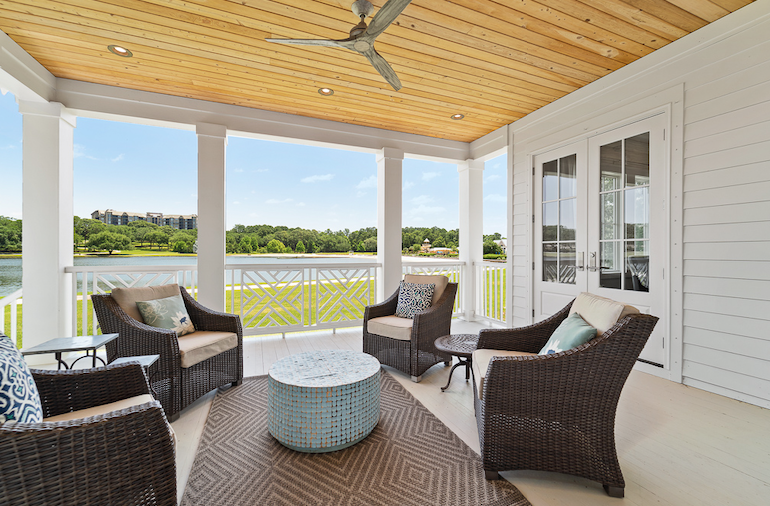 2019 Professional Builder Design Awards Silver Single Family 2001 to 3100 sf outdoor living