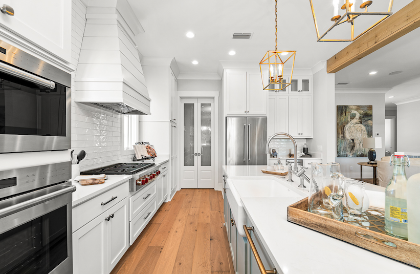 2019 Professional Builder Design Awards Silver Single Family 2001 to 3100 sf kitchen with island