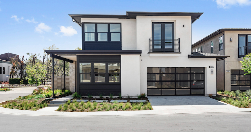 2019 Professional Builder Design Awards Silver Single Family over 3100 sf Miraval II exterior