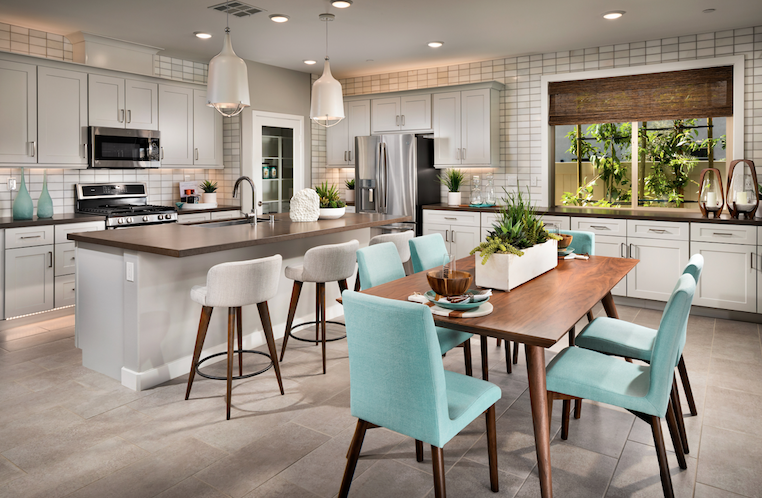 2019 Professional Builder Design Awards Silver Single Family home under 2000sf kitchen