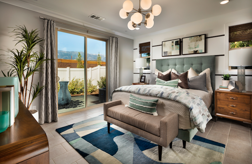 2019 Professional Builder Design Awards Silver Single Family home under 2000sf bedroom