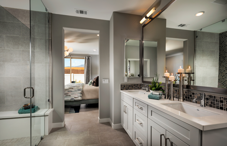 2019 Professional Builder Design Awards Silver Single Family home under 2000sf bathroom