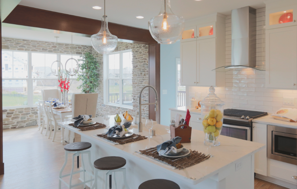 2017 NHQ Silver winner_Tim O'Brien Homes_kitchen_Hickory Parade