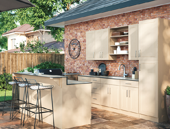2019 top 100 products-outdoor living-Ideal Cabinetry-WeatherStrong cabinet line