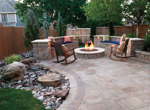 2019 top 100 products-outdoor living-Keystone Hardscapes-walls pavers