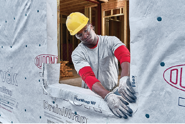 2019 top 100 products-structural-DuPont-Tyvek DrainWrap
