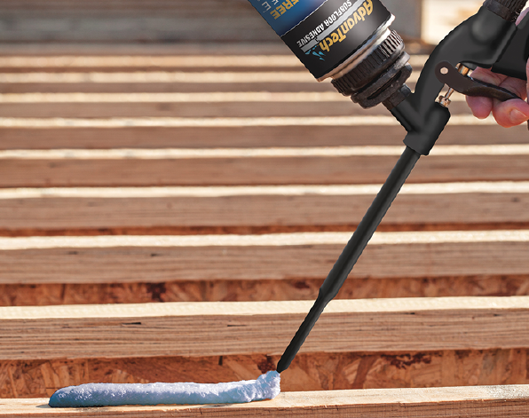 2019 top 100 products-structural-Huber-AdvanTech subfloor adhesive