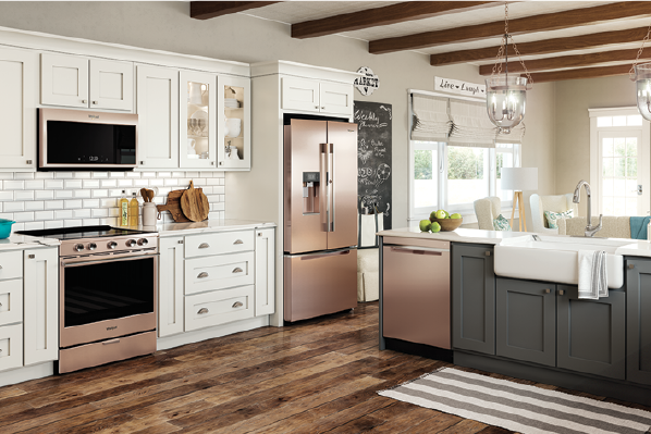 2019 top 100-appliances-Whirlpool-Sunset Bronze new color