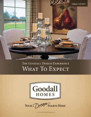 Goodall Homes-What to Expect book