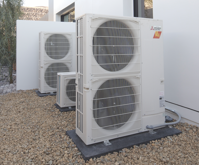 mini-split HVAC unit