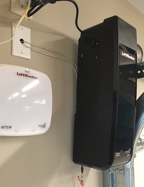 The New American Home 2020 products LiftMaster garage door opener